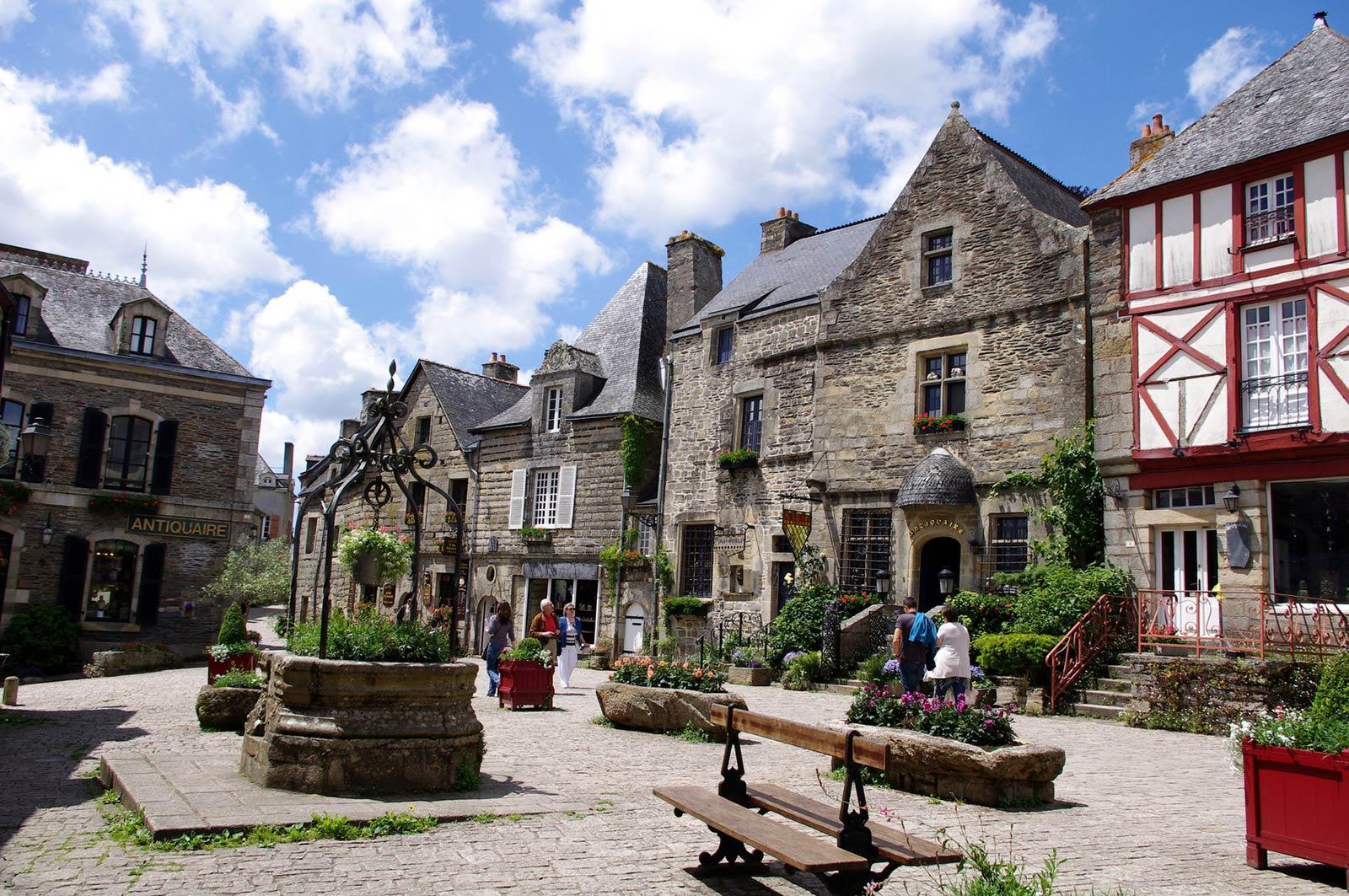 Rochefort en Terre Visites lors de votre séjour en Bretagne Sud